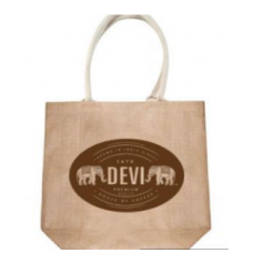 DEVI Shopping Bag Natural Jute Finish Small