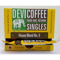 DEVI SINGLES - Box of 12 Single Serve Coffee Bags (10g x12) 120g